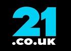 21.co.uk logo for table