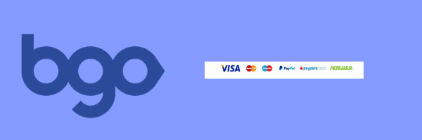 different payment methods bgo UK