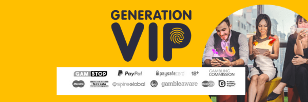 payment info for generation vip uk