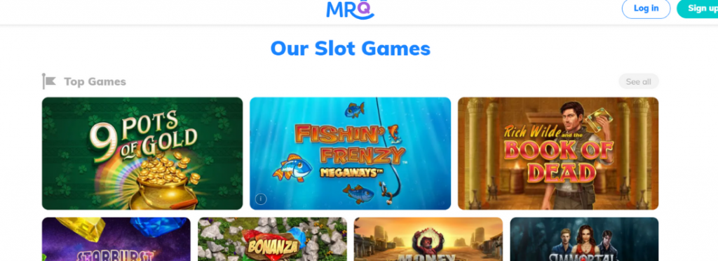 welcome to mrq